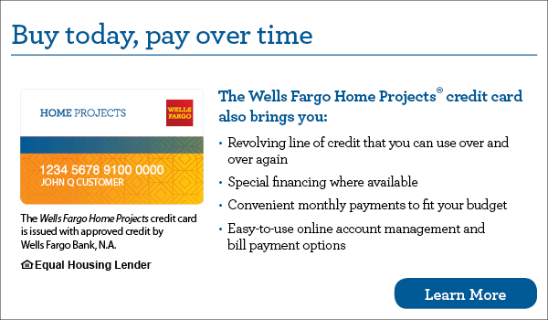 Wells Fargo Home Projects®
