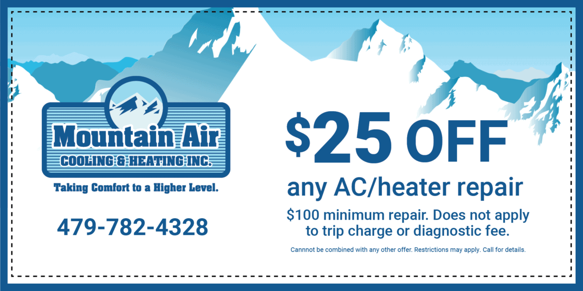 Off any AC/Heater repair | 0 Minimum repair. Does not apply to trip charge or diagnostic fee. | Cannot be combined iwth any other offer. Restrictions may apply. Call for detials.